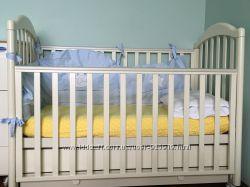 Детская кроватка ITALBABY с матрасом