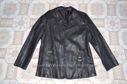 Куртка з кожзама 50-го розміру