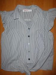 рубашка-блуза для школы 11-13 лет Gloria Jeans