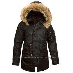 Куртка Аляска женская Alpha Industries USA Women N-3B Parka