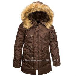Женские куртки Аляска США Alpha Industries