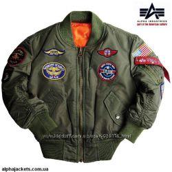 Детские лётные куртки Alpha Industries, USA
