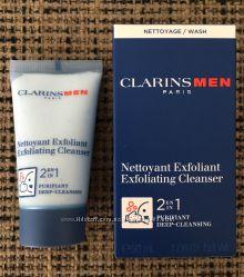 CLARINS Очищающее и отшелушивающее средство для лица для мужчин