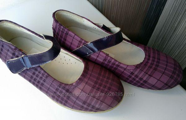 Нарядні туфлі туфли туфельки, кожа натур. TIRANITOS, 21, 5 см, 34 р.