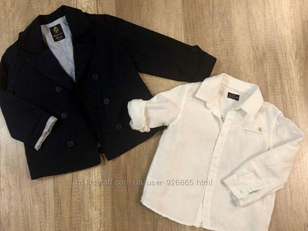 Пиджак и льняная рубашка Mayoral