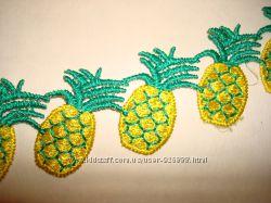 Симпатичные нашивки - ананасики