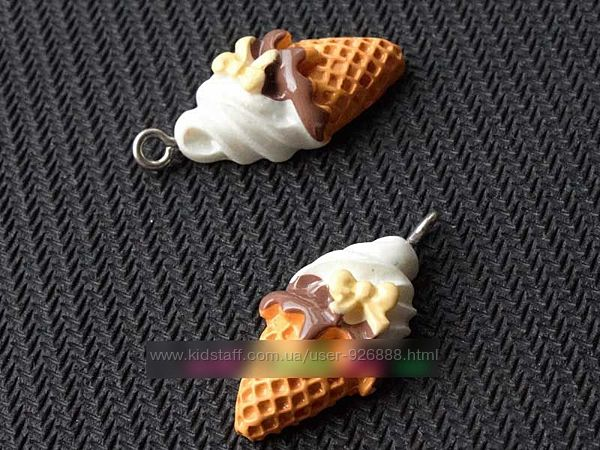 Декор-подвеска Мороженое фурнитура