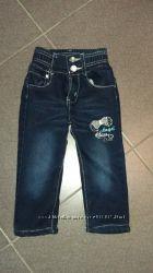 джинсы теплые
