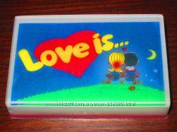 Мыло Love is.