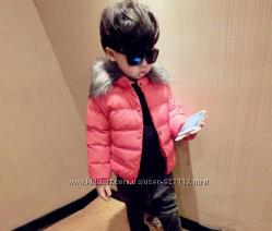 Куртка детская с искусственным мехом