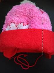 Зимняя шапочка на 6-18мес