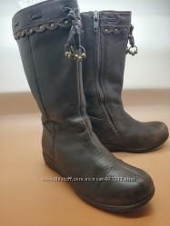 Шкіряні чобітки Clarks - 18, 5см