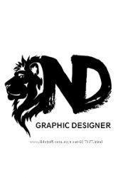 Услуги дизайнера. Полиграфия