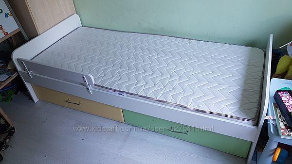 Кровать 90х200 с ящиками и опциональным вторым ярусом