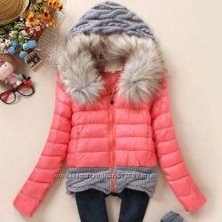 Куртка женская новая, цвет коралловый
