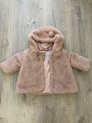Дитяча шубка на дівчинку 6міс  фірми George рожева у гарному стані