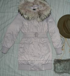 Пуховое зимнее пальто