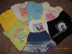 Футболки юбки  для девочки, , р. 116-122-128-134 см