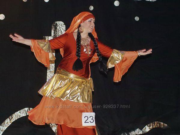 Платье 50-52р беллиданс фольк хагалла, саиди