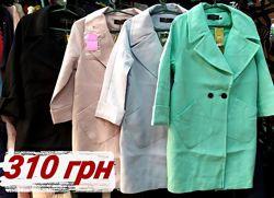 Лёгкое весеннее пальто нежно-розовое