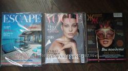 НОВЫЕ журналы Vogue ua, Escape total, Женский журнал 2015-2016