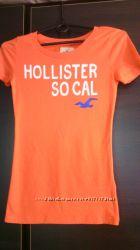 Футболка новая  Hollister разм S