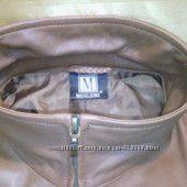 Брендовая куртка натуральной  кожи MADELEINE.