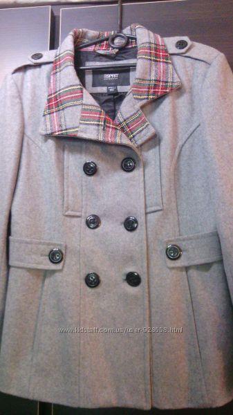 Супер классная куртка в составе шерсть Esprit     44  разм
