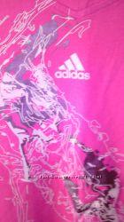 Футболка  Adidas  малиновая