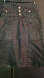 Джинсовая юбка Tommi Hilfiger.