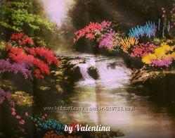 Картина Горный ручей