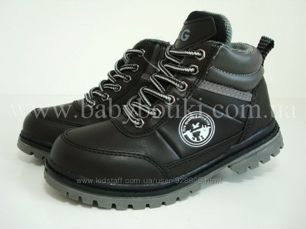 Распродажа Ботинки B&G р. 28 черные