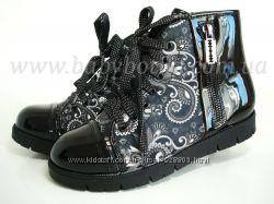 Демисезонные ботинки B&G р. 32-37
