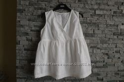 Шикарная блуза с вышивкой для беременных Мothercare  р. М  хлопок