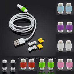 Зажимы для кабеля зарядного устройства USB iPhone 55s, 66s, 6PLUS