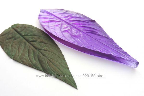Молд листа спатифиллиума 14. 5 см на 5 см- L-Москва-Тайланд