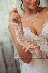 Шикарное свадебное платье PAPILIO