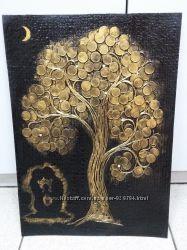 Панно денежное дерево