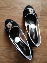 Оригинальные туфли ATTIZZARE, натуральный замш, 37 р.