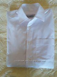 Рубашка тм Каштан, р. 140 -146, Украина, хлопок