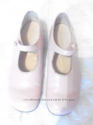 Туфли школьные кожа р. 33 для девочки кожаные Англия