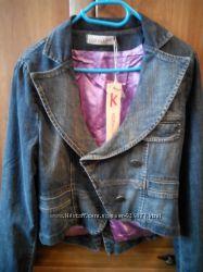 джинсовая куртка пиджак KORALLINE оригинал Италия новая