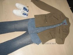 Куртка Tom Tailor цвета хаки