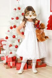 Нарядное белое платье American princess 6 лет