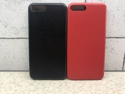 Чехол на iphone 7, 8, 7 plus, 8 plus  кож зам