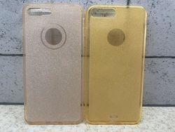 Силиконовый чехол с блестками для iphone 7, 7 plus , 8, 8 plus