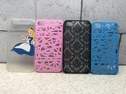 Чехол пластиковый для iphone 4, 4s