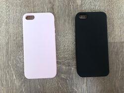 Силиконовый чехол на iphone 5, 5S, SE