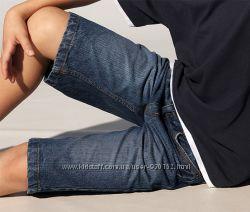 Стильні та модні джинсові шорти-бріджі  134 -140 ріст  ТСМ Німеччина