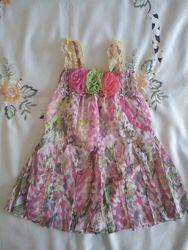 Яскраве  літнє платтячко  98 -104 ріст
